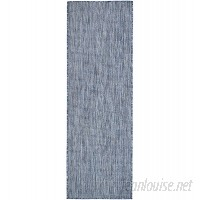 Laurel Foundry Modern Farmhouse Janet Blue Indoor/Outdoor Area Rug LRFY3087