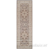 Astoria Grand Vassar Gray/Brown Area Rug ARGD1210
