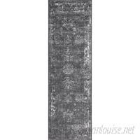 Mistana Brandt Dark Grey Area Rug MTNA1822