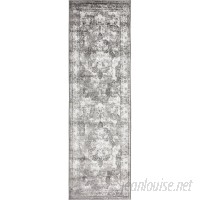 Mistana Brandt Machine Woven Indoor Gray Area Rug MTNA1015