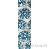 Wrought Studio Wallner Teal Blue Area Rug VRKG5241