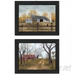 August Grove 'Country Roads' 2 Piece Framed Painting Print Set AGTG3411
