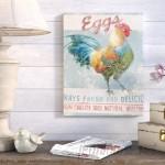 August Grove Farm Nostalgia VI Vintage Advertisement on Wrapped Canvas ATGR6113