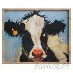 August Grove Framed Painting Print on Canvas AGRV1439