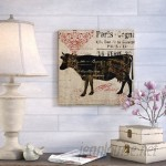 August Grove Paris Farms I Graphic Art on Wrapped Canvas ATGR5711
