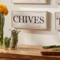 Birch Lane™ Chives Herbs Plaque BL6892