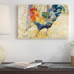 East Urban Home 'Colorful Rooster' Print ESTN1257