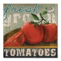 Fleur De Lis Living 'Farm Fresh II' Graphic Art Print on Wrapped Canvas FDLV3866