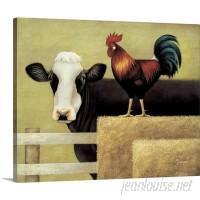 Great Big Canvas 'Barnyard Cow' Lowell Herrero Wall Art Print GRWO5778