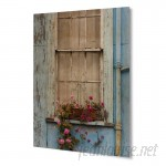 Kavka 'Cottage Window' Photographic Print on Plaque KAVK1320