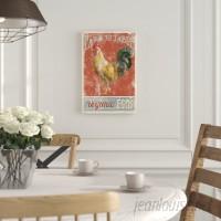 Laurel Foundry Modern Farmhouse Farm Nostalgia V Graphic Art on Wrapped Canvas LRFY5397
