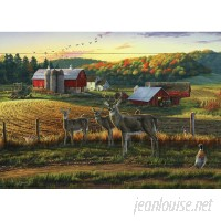 North American Art 'Harvest Time Pallet' by Darrell Bush Painting Print on Wood NAMA2085