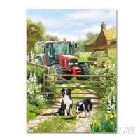Trademark Art 'Tractor' Print on Canvas HYT69475