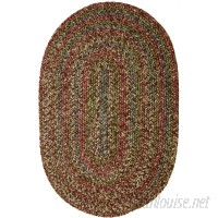 August Grove Valla Brown Indoor/Outdoor Area Rug AGTG3400
