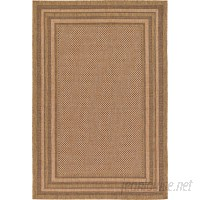 Bay Isle Home Rockwood Light Brown Outdoor Area Rug BAYI4394
