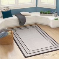 Bay Isle Home Sneller Gray Outdoor Area Rug BYIL4670