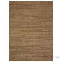 Bay Isle Home Stem-bridge Chestnut Brown Indoor/Outdoor Area Rug BX2868
