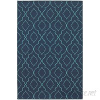 Beachcrest Home Kailani Navy/Blue Indoor/Outdoor Area Rug BCMH2279
