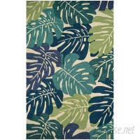 Beachcrest Home Totterdell Hand-Knotted Green Area Rug BCHH6535