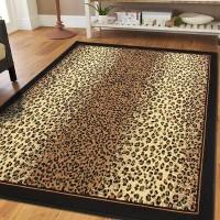 Bloomsbury Market Prejean Cheetah Animal Print Leopard Brown Indoor/Outdoor Area Rug DRXF1024