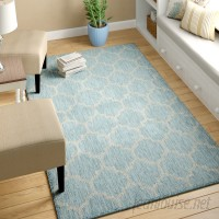 Charlton Home Stanton Aquamarine Outdoor Area Rug CHLH6659