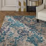 House of Hampton Bromelton Modern Blue Indoor/Outdoor Area Rug HMPT1229