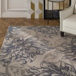 House of Hampton Bromford Gray Indoor/Outdoor Area Rug HMPT1230