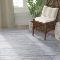 Langley Street Lorenzo Taupe/Champagne/Blue Indoor/Outdoor Area Rug LGLY6955