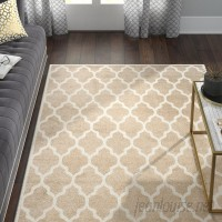 Willa Arlo Interiors Maritza Wheat/Beige Woven Area Rug WRLO5703