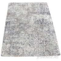 17 Stories One-of-a-Kind Eddyville Hi-Lo Hand-Knotted Gray Area Rug SVTN1269