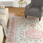 Astoria Grand One-of-a-Kind Lieber Traditional Oriental Hand Woven Wool Pink Area Rug ARGD5083