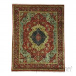Astoria Grand One-of-a-Kind Salzman Re-creation Hand-Knotted Red/Blue/Yellow Area Rug ASTD1869