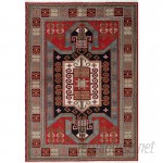 Bloomsbury Market One-of-a-Kind Berkshire Hand-Knotted Red Area Rug BLMS3340