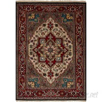 Bloomsbury Market One-of-a-Kind Larsen Oriental Hand-Knotted Wool Red Area Rug BLMT5935