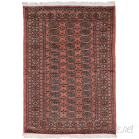 Bloomsbury Market One-of-a-Kind Olney Springs Hand Knotted Wool Dark Copper Area Rug BLMK9213