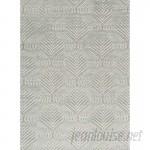 Bokara Rug Co., Inc. One-of-a-Kind La Ciel Hand-Woven Silver Area Rug BRCI1995