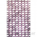 Brayden Studio One-of-a-Kind Houghton-le-Spring Hand-Woven Cowhide Gray/Purple Area Rug BSTU6256