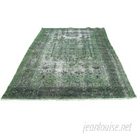 Canora Grey One-of-a-Kind Kendrick Hand-Knotted Forest Green Area Rug CAGY2444