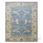 Darby Home Co One-of-a-Kind Gulliver Oushak Hand-Woven Wool Blue Area Rug DRBH1357