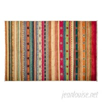 Darya Rugs One-of-a-Kind Lori Hand-Knotted Multicolor Area Rug DYAR3629