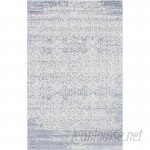 ECARPETGALLERY One-of-a-Kind Monterey Hand-Knotted Gray/White Area Rug ECR3973