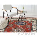 Millwood Pines One-of-a-Kind Tillett Special Hand-Knotted Red Area Rug MLWP1301