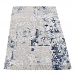 Williston Forge One-of-a-Kind Hedgepeth Hi-Lo Hand-Knotted Gray Area Rug WLSG1423