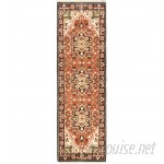 World Menagerie One-of-a-Kind Evony Hand-Knotted Wool Copper Area Rug WRMG1477