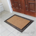 A1 Home Collections LLC Striped Double Doormat AHOC1262
