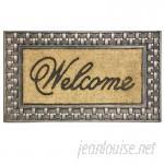 Alcott Hill Gerrin Welcome Doormat ALCT3230