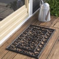 Andover Mills Calles Scroll Floral Doormat ADML1773