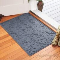 Andover Mills Pritchard Leaf Doormat ANDV1230