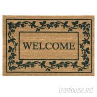 Bacova Guild Koko Flocked Welcome Doormat BCGD1136