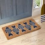Beachcrest Home Matteo Fish Doormat BCHH9095